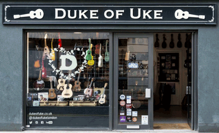 Take a look inside the Duke of Uke - 3D Tour