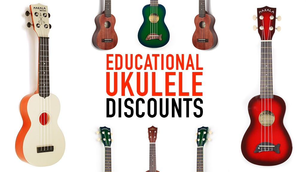 School Educational Discount on Ukuleles from Duke of Uke