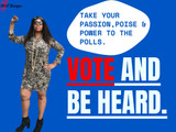 It's Election Day today. Take Your Passion, Poise and Power to the Polls! Vote!!