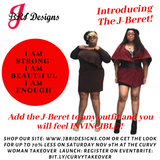 J Bri Designs Debuts The J-Beret during The Curvy Woman Takeover Launch on Nov 9th!