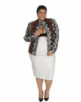 2c jacket and skirt set