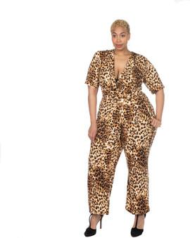 Leopard ambassador jumpsuit