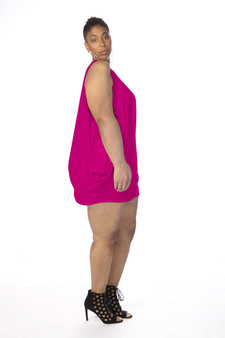 Fuchsia Tent Dress