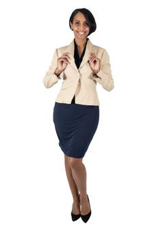 Taupe silk linen blazer