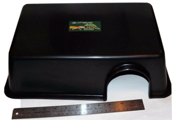 """Extra Large Reptile Plastic Hide Box- 16"""" XL Snakes Lizards"""