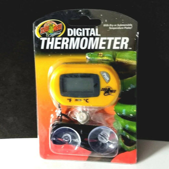 Zoo Med Digital Reptile Thermometer with External Probe for Snakes and Lizards
