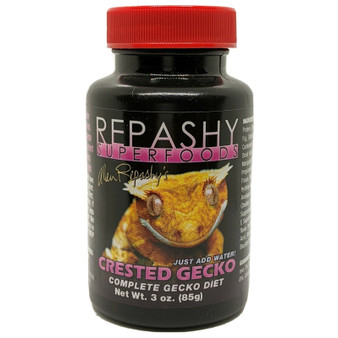 Repashy Crested Gecko Diet 3 oz Banana MRP Fruit-eating Reptile Powdered Food