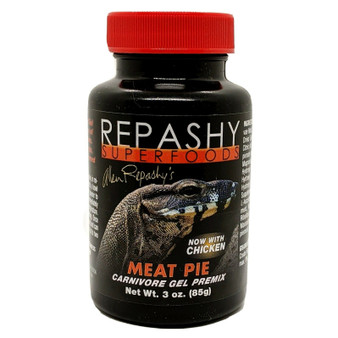 Repashy Meat Pie Carnevore Gel  3 oz with Chicken Monitor Lizards