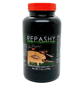Repashy Bug Burger Feeder Insect Diet Gel 6 oz Cricket Roach Gut Load.