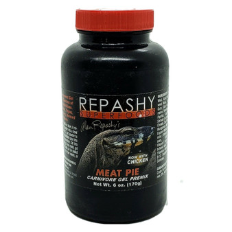 Repashy Meat Pie Carnevore Gel  6 oz with Chicken Monitor Lizards