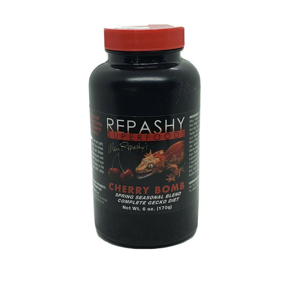 Repashy Crested Gecko Diet 6 oz Cherry Bomb MRP Seasonal Limited Edition