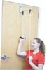 CanDo¨ Overdoor Shoulder Pulley - Double Pulley with Door Bracket, 25-pack