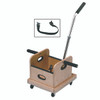 FCE Work Device - Mobile Weighted Cart with Straight Handle and Accessory Box