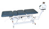 ADP-400 electric high-low traction table with hand switch, casters