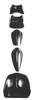 Soft tissue system - 5-piece set (neck, standard and short thoracic, occipivot, lumbar pivot)