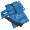 Pouch¨ Variable Wrist and Ankle Weight - 20 lb, 5 x 4 lb inserts - Blue