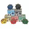 CanDo¨ Digi-Extend n' Squeeze¨ Hand Exerciser - Medium - 5-piece set (yellow, red, green, blue, black), no stand
