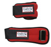 CanDo¨ Weight Straps - 2 lb Set (2 each: 1 lb weight) - Red