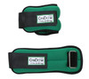 CanDo¨ Weight Straps - 3 lb Set (2 each: 1-1/2 lb weight) - Green