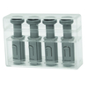 Digi-Flex Multi¨ - 4 Additional Finger Buttons with Box - Silver (xx-heavy)