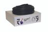 Sup-R Tubing¨ - Latex Free Exercise Tubing - 100' dispenser roll - Black - x-heavy