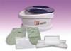 WaxWel¨ Paraffin Bath - Standard Unit Includes: 100 Liners, 1 Mitt, 1 Bootie and 6 lb Lavender Paraffin