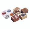 Allen Diagnostic Module Recessed Tile Boxes, Pack of 6