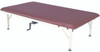 "bariatric mat platform table - hand crank, steel frame, 84"" L x 48"" W x 20"" - 30"" H, 900 lb. weight capacity"