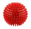 Massage ball, 9 cm (3.6 inches), Red, 1 dozen
