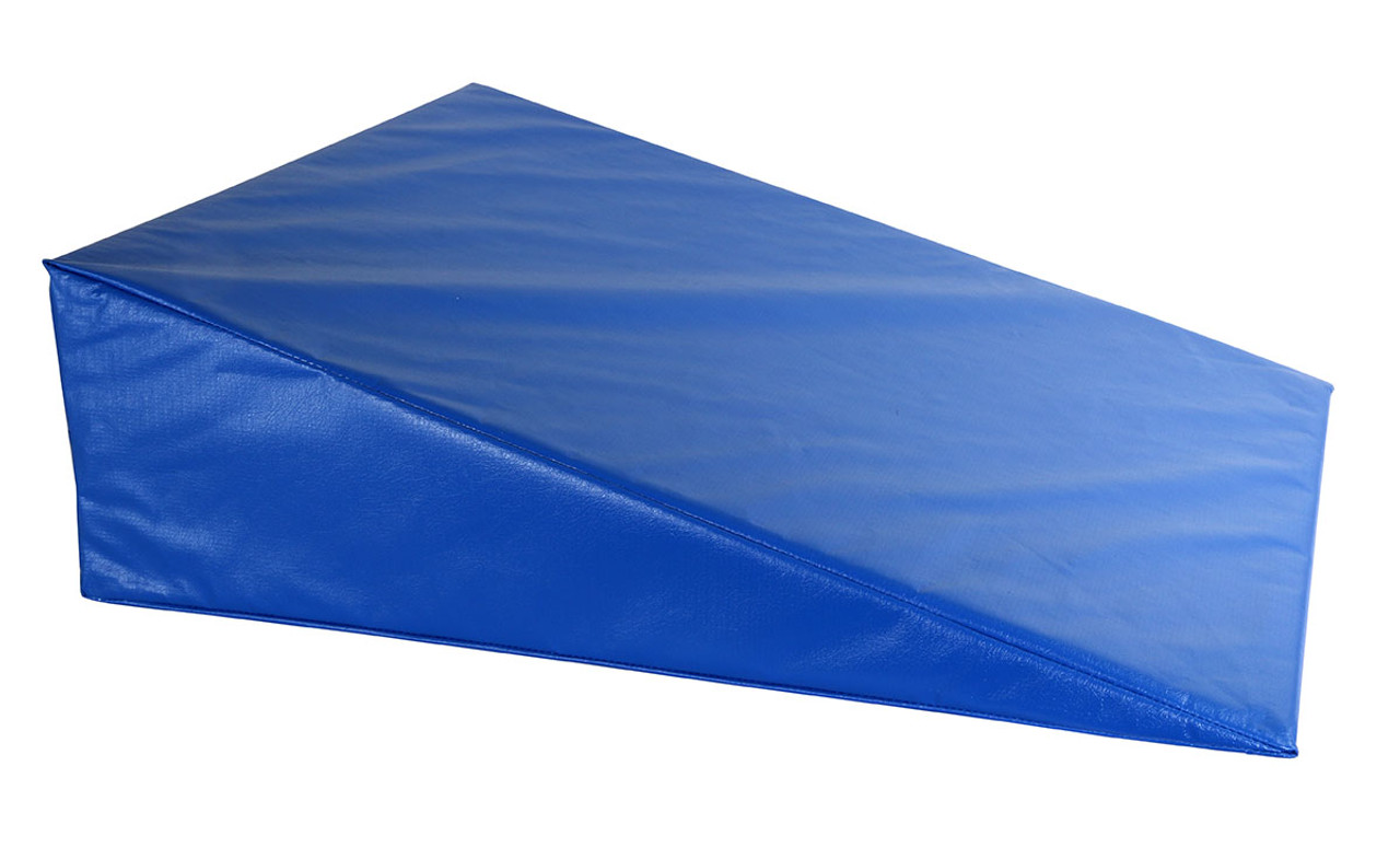 """CanDo¨ Positioning Wedge - Foam with vinyl cover - Medium Firm - 24"""" x 28"""" x 8"""" - Specify Color"""