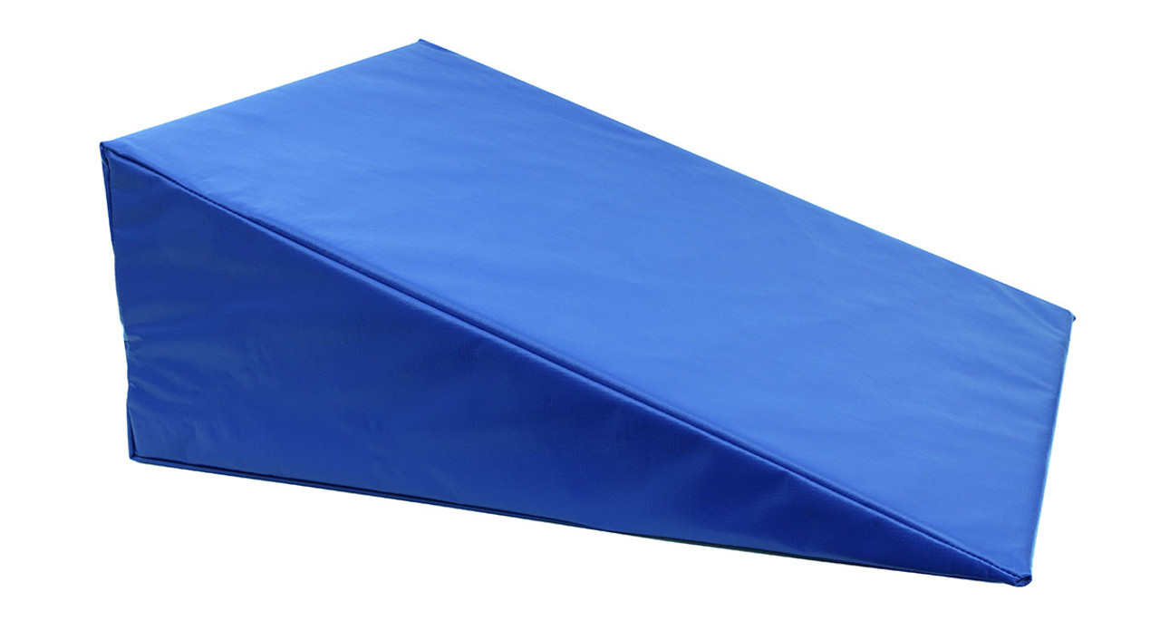"""CanDo¨ Positioning Wedge - Foam with vinyl cover - Medium Firm - 24"""" x 28"""" x 10"""" - Specify Color"""
