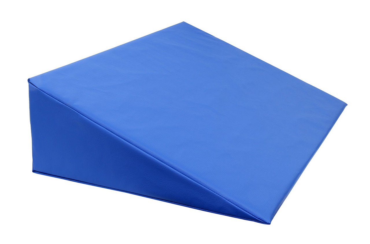 """CanDo¨ Positioning Wedge - Foam with vinyl cover - Medium Firm - 30"""" x 20"""" x 8"""" - Specify Color"""