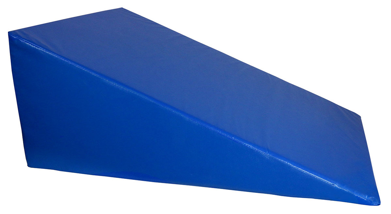 """CanDo¨ Positioning Wedge - Foam with vinyl cover - Firm - 30"""" x 40"""" x 16"""" - Specify Color"""