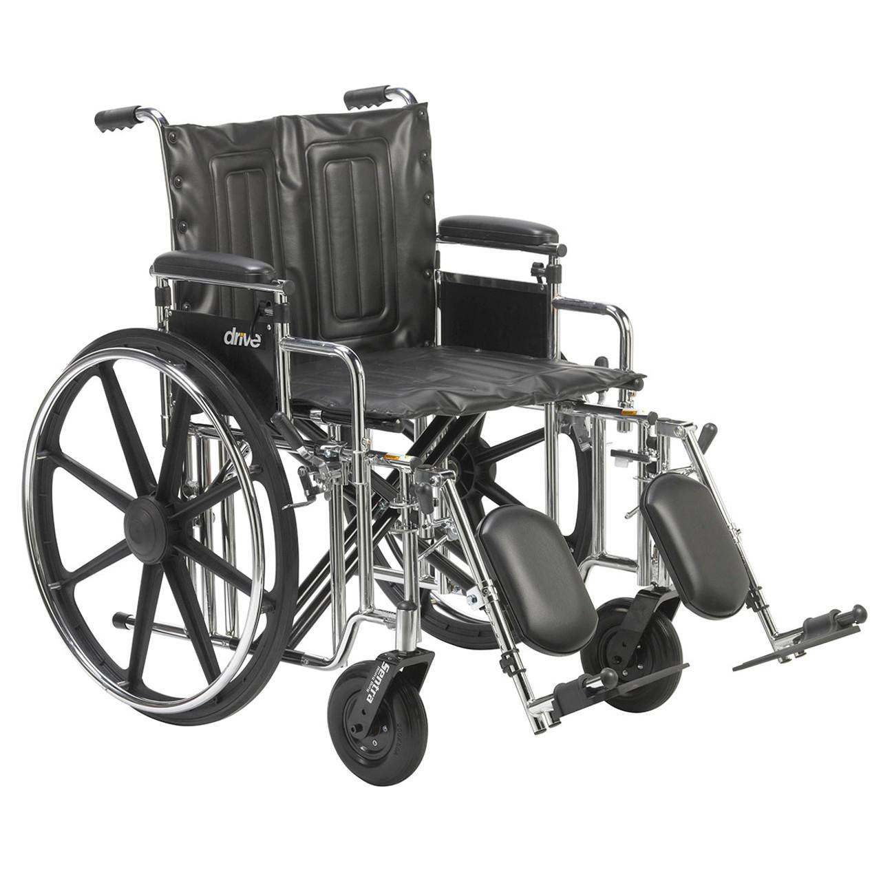 Pleasant Sentra Extra Heavy Duty Wheelchair Detachable Adjustable Height Desk Arms Elevating Leg Rests 20 Seat Machost Co Dining Chair Design Ideas Machostcouk