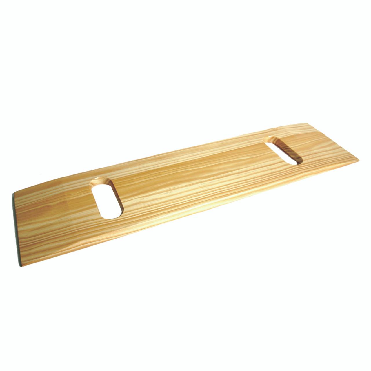 """Transfer Board, Wood, 8"""" x 30"""", two handgrips"""