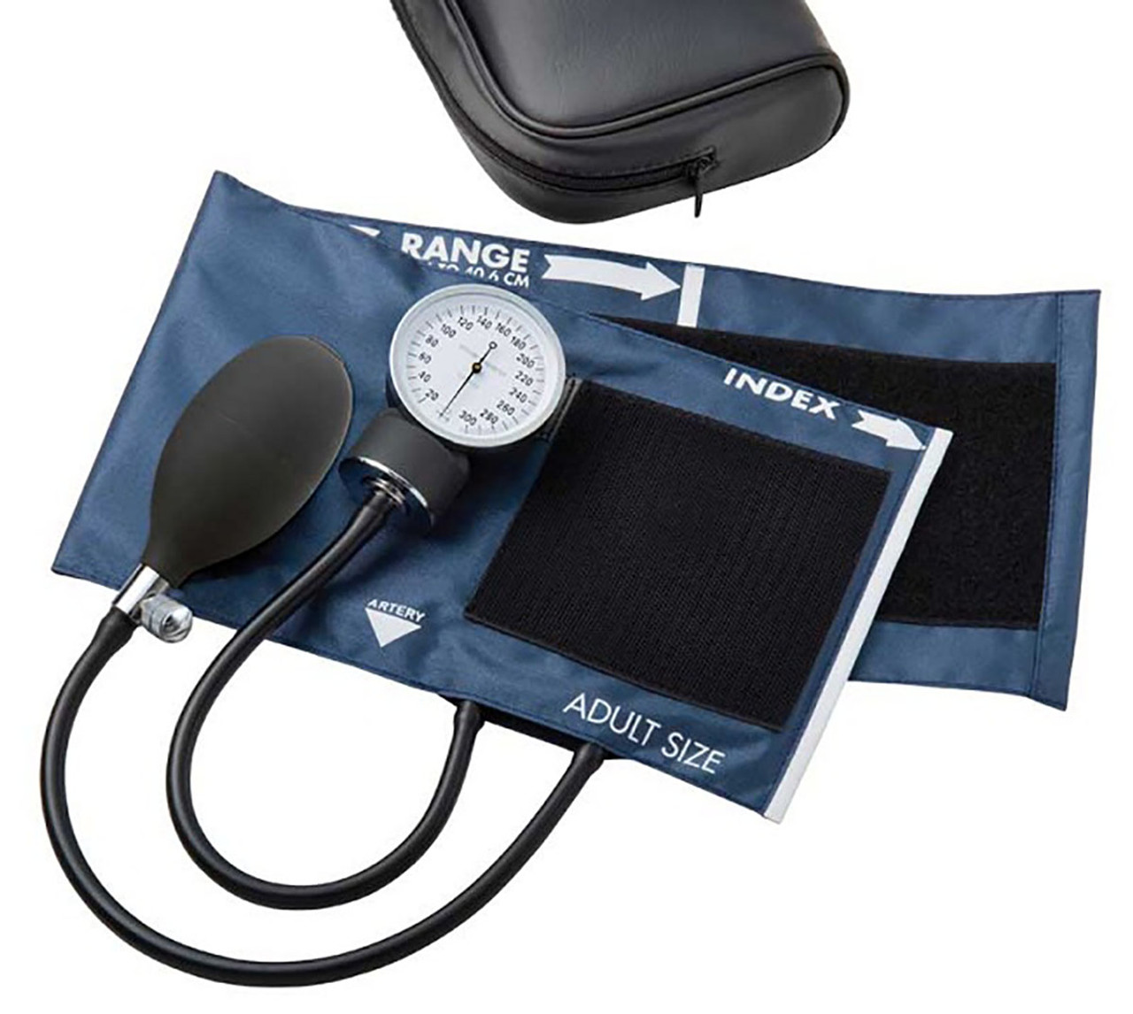 ADC Aneroid Sphyg, Large Adult, Navy