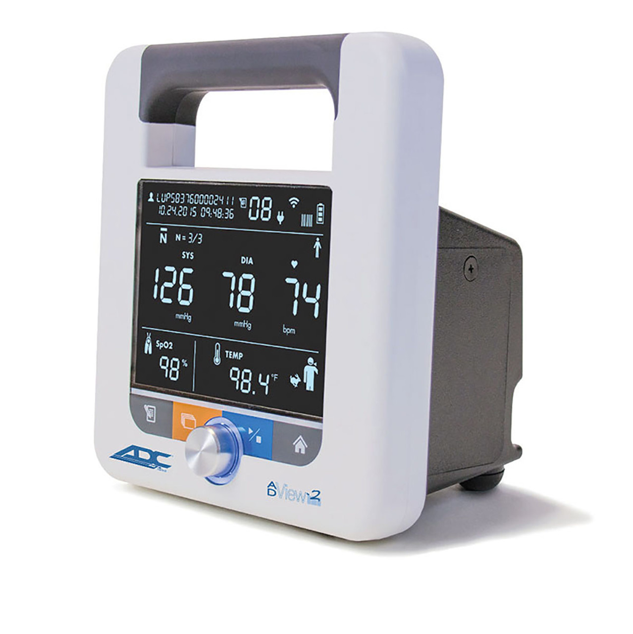 ADC AdView 2 Diagnostic Station, Blood Pressure Module Only