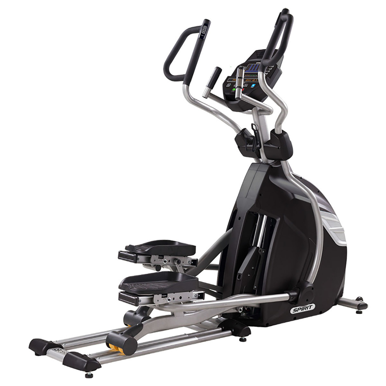 "Spirit CE850 Elliptical, 84"" x 32"" x 70"""