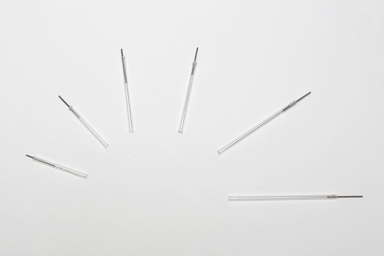 APS DROP Dry Needles, 0.30 x 75mm, Black tip, box of 100