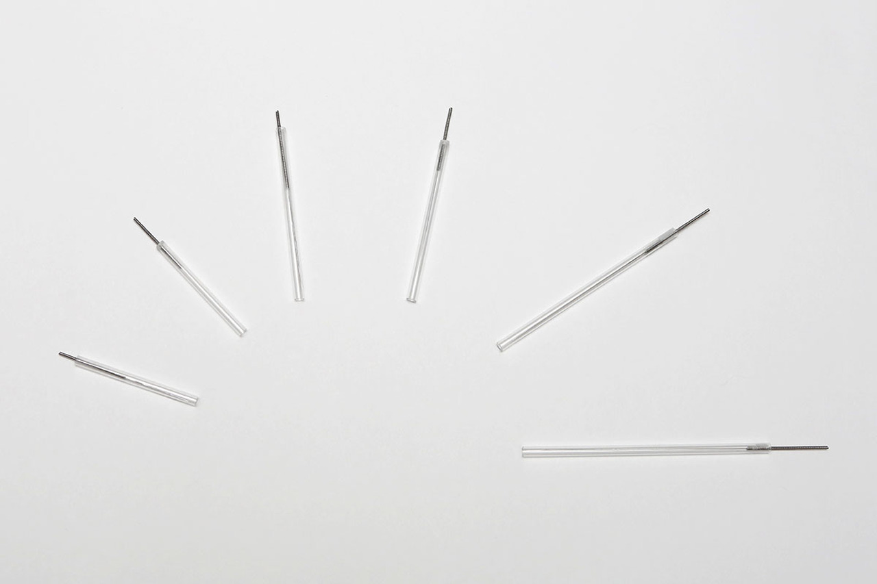 APS DROP Dry Needles, 0.30 x 30mm, Gold tip, box of 100