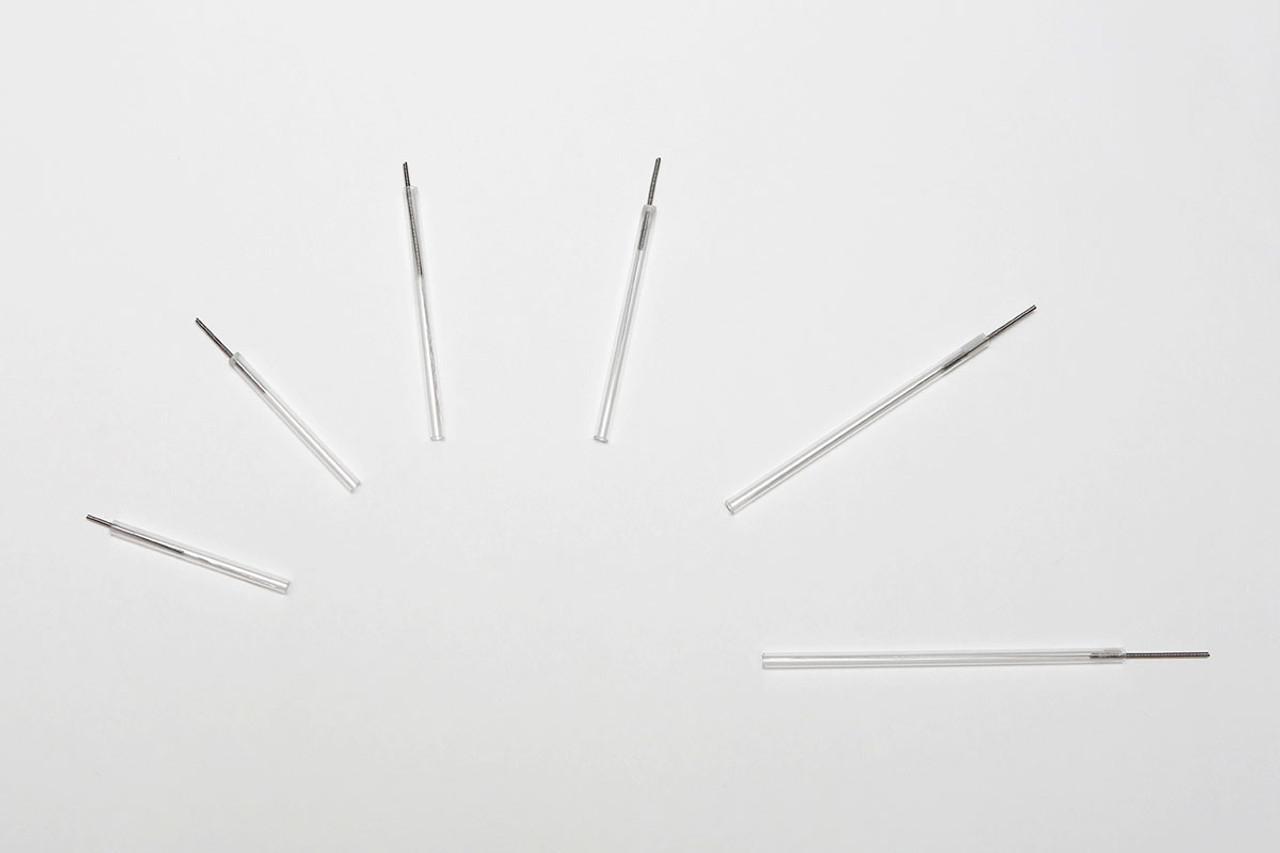 APS DROP Dry Needles, 0.25 x 30mm, Brown tip, box of 100