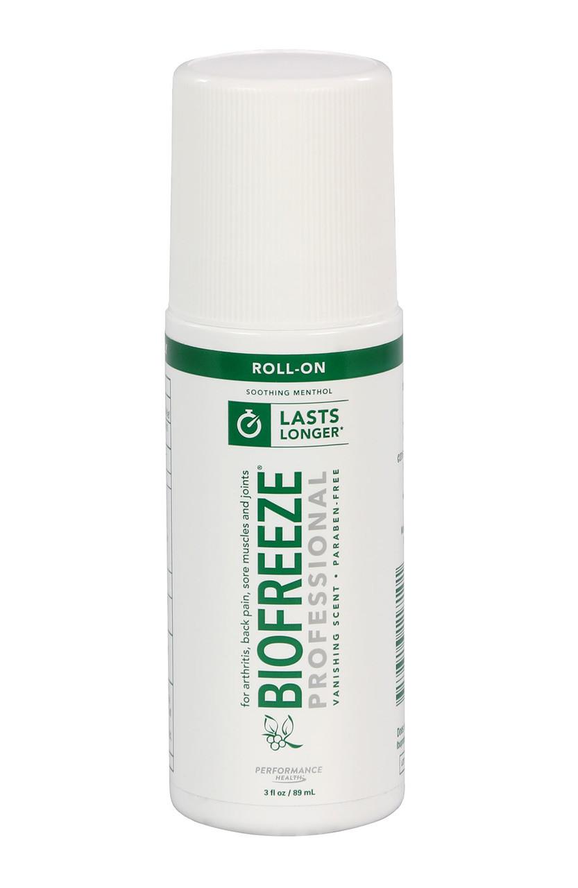BioFreeze Professional Lotion - 3 oz roll-on, box of 12
