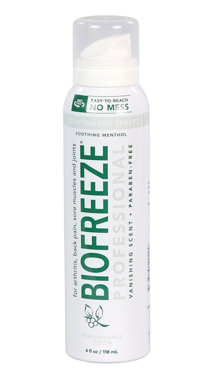 BioFreeze Professional CryoSpray - 4 oz patient size