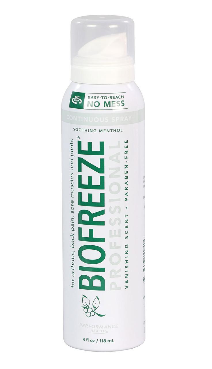 BioFreeze Professional CryoSpray - 4 oz patient size, box of 12