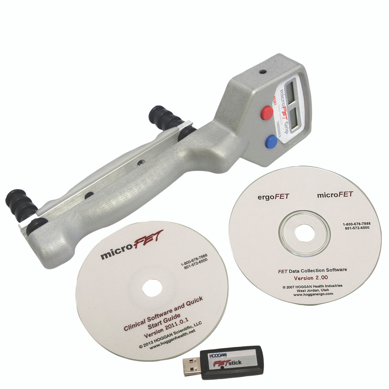 MicroFETª HandGRIP - Wireless with Clinical and Data Collection Software