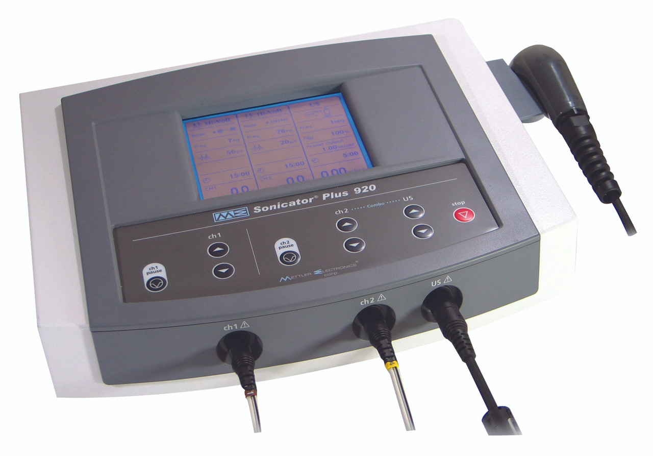 Mettler¨ Sonicator¨ Plus 920 - Stim and Ultrasound Combination Unit