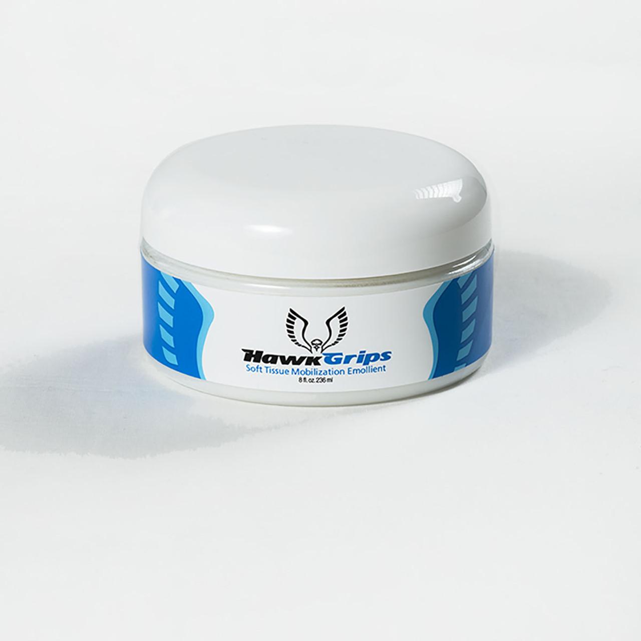 HawkGrips Fragrance Free Emollient, 10 jar pack