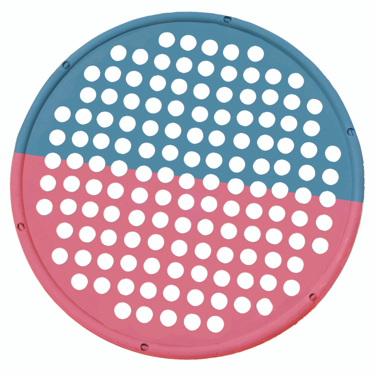 """CanDo¨ Hand Exercise Web - Low Powder - 14"""" Diameter - multi-resistance, Red/Blue"""