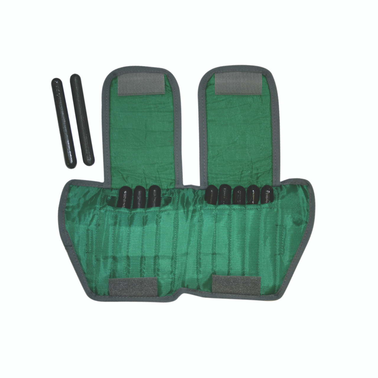 The Adjustable Cuff¨ ankle weight - 5 lb - 10 x 0.5 lb inserts - Green - each