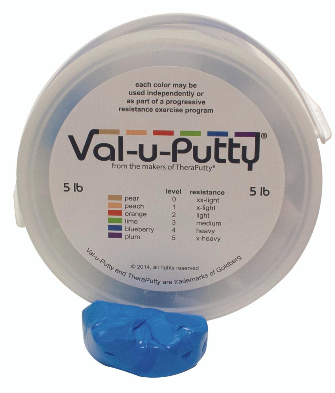 Val-u-Puttyª Exercise Putty - blueberry (firm) - 5 lb